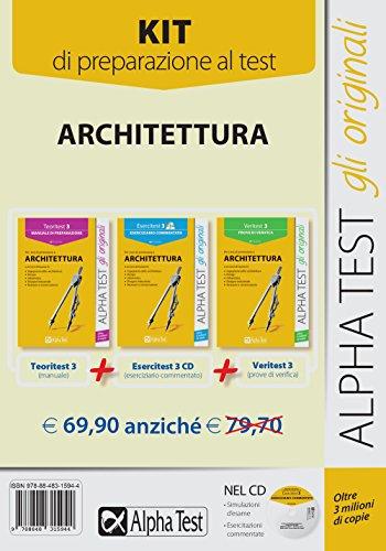 Catalogo architettura libri test ingresso e concorsi for Test ingresso ingegneria