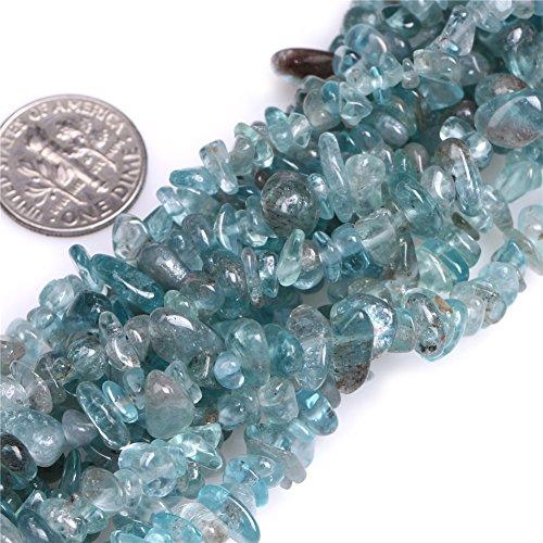 Joe Foreman Kyanite Chips Beads for Jewelry Making Natural Gemstone Semi Precious 7-8mm 34
