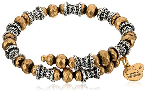 Alex Ani Aztec Two Tone Bracelet