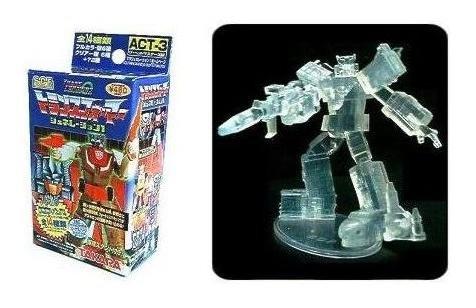 Transformers Takara SCF Raiden Figure Combiners - (Ghost of Clear Version) G1 Act 3 HOC