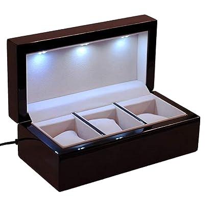 Caja y cargador para 3 relojes solares I-Sol 3 LED