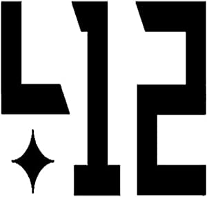 """412 Pittsburgh Printed Decal Sticker - 5"""" Sticker for Cars Windows Notebooks Lockers Etc"""
