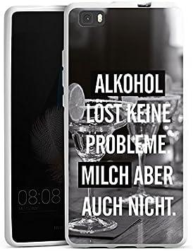 DeinDesign Huawei P10 Plus Carcasa Case Funda Móvil Alcohol Fiesta ...