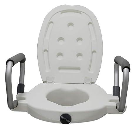Fine Hsrg Medical Elevated Raised Toilet Seat Portable Toilet Dailytribune Chair Design For Home Dailytribuneorg