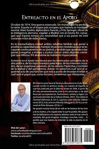 Entreacto en el Apolo: Amazon.es: Díaz Domínguez, Carlos: Libros