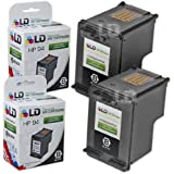 LD © Remanufactured Replacement Ink Cartridge for Hewlett Packard C8765WN (HP 94) Black (2 pack)