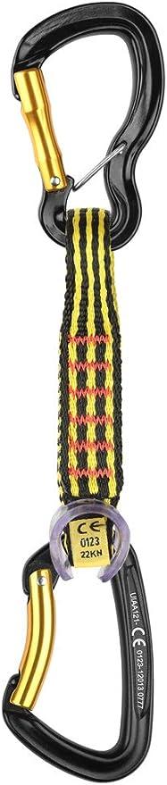 Grivel - Alpha Captive Quickdraw, Color Black, Talla 13 cm ...