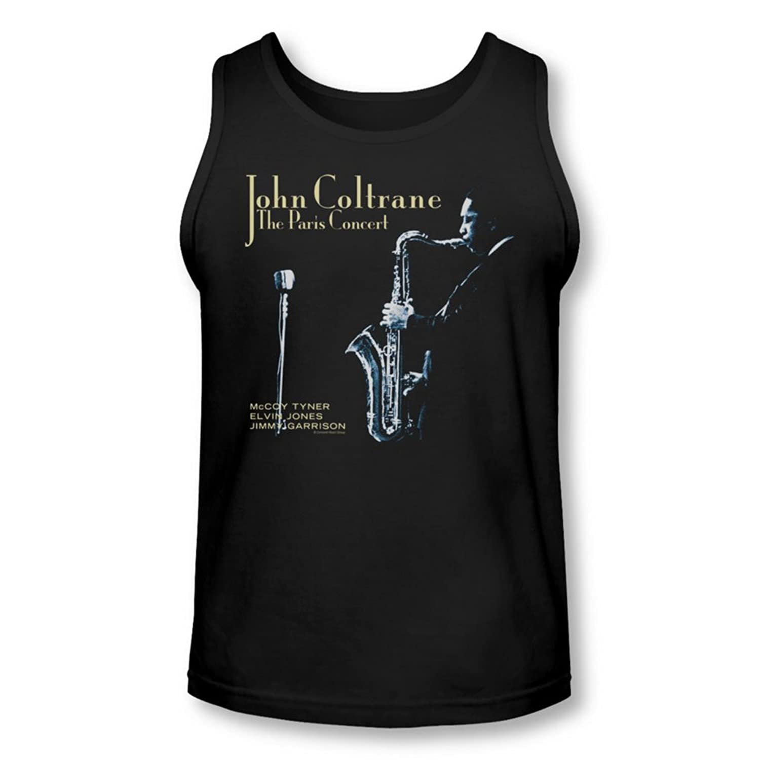 Concord Music - Mens Paris Coltrane Tank-Top