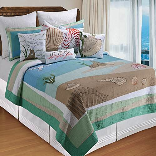 (Whispering Sands King Quilt by C & F)