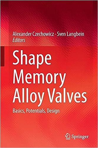 Shape Memory Alloy Valves: Basics, Potentials, Design: Alexander