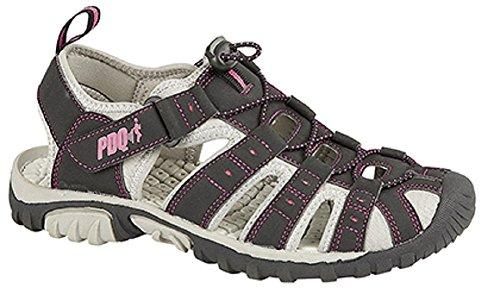 Sport Pink amp; Schwarz Outdoor Damen Sandalen rot Rot PDQ zqv5R