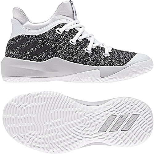Adults' Unisex 000 up Grpulg Ftwbla 2 Basketball White Rise adidas Shoes K Negbas OSxpww5