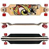Rimable 41 Inch Drop Deck Complete Longboard (Fashion Eye)