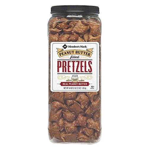 Daily Chef Peanut Butter Filled Pretzels 44oz (Peanut Butter Pretzel Nuggets)