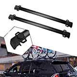ALAVENTE Roof Rack Cross Bars System Compatible for Jeep Compass 2011 2012 2013 2014 2015 2016 Luggage Racks (Black)