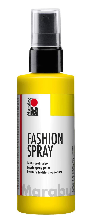 Marabu 100 ml Fashion Spray, Sunshine Yellow MR171950220
