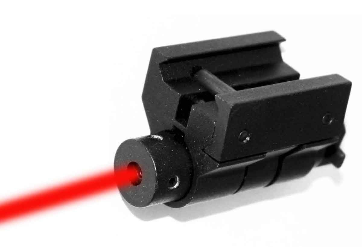 Trinity Weaver Mounted red dot Sight for Ruger American Tactical Home Defense Optics Accessory Aluminum Black Picatinny Weaver Mount Adapter Class IIIA 635nM Less Than 5mW.