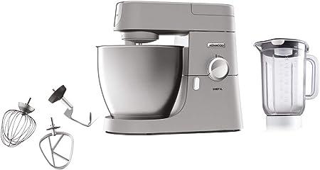 kenwood kvl4110s Robot de Cocina, 6,7 L, 1200 W, Plata, 6.7 litros: Amazon.es: Hogar