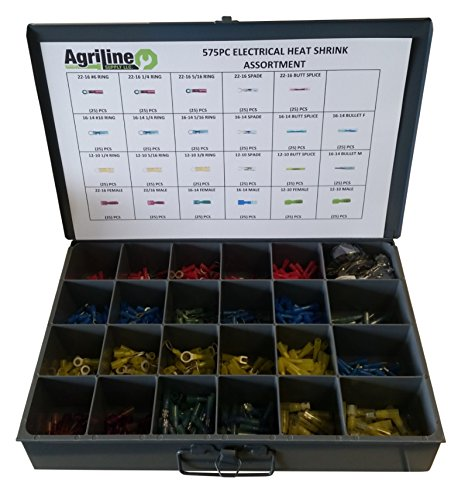 575PC HEAT SHRINK ELECTRICAL ASSORTMENT by Agriline Supply