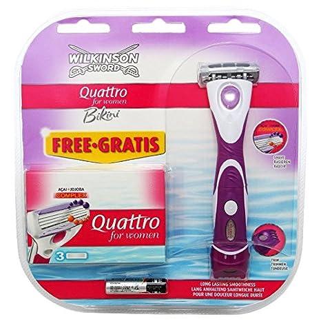 Wilkinson Sword Quattro for Women Bikini 379E