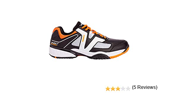 Zapatillas de pádel Vairo Tour Black/Orange (46): Amazon.es ...