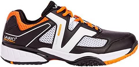 Zapatillas de pádel Vairo Tour Black/Orange (46): Amazon.es: Zapatos y complementos