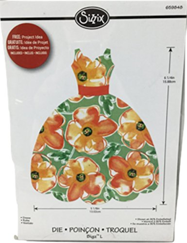 Sizzix Bigz L Rachael Bright Die - Dress