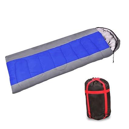 Adultos calientes Saco de dormir sobre camping Primavera asiáticas arañas Humedad Almuerzo Primavera y Otoño Azul