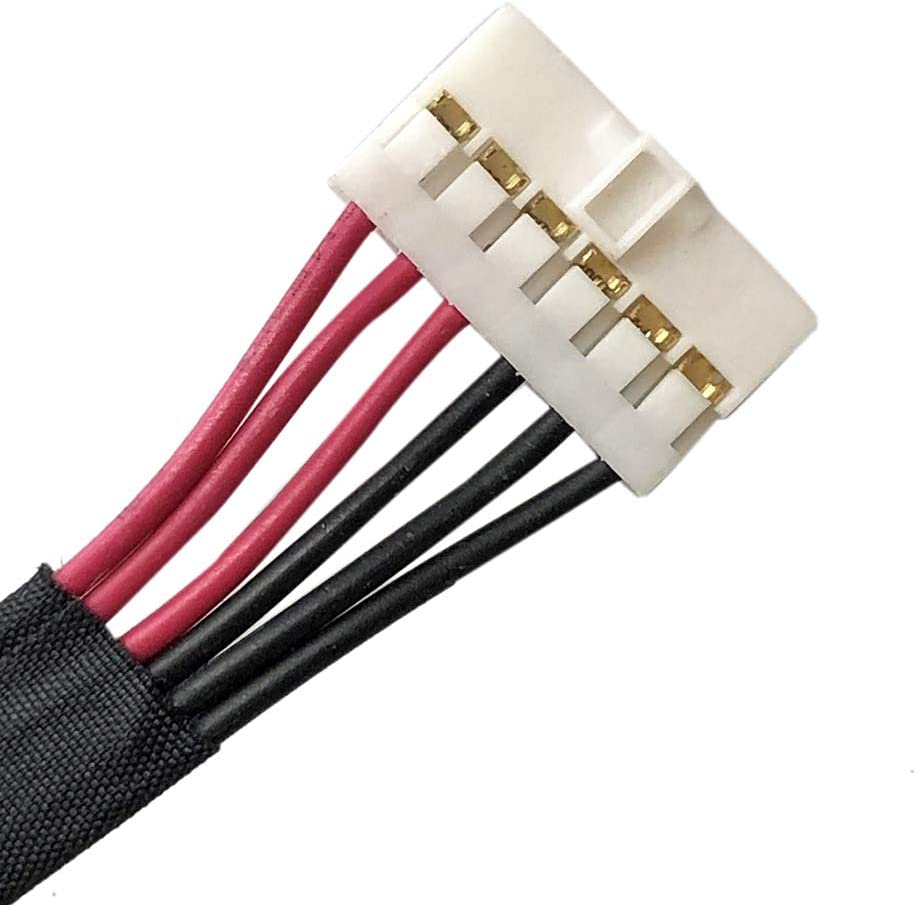 Zahara DC in Power Jack Harness Cable Socket Plug Replacemnt for Asus R555ZU R555JX R555JW R555JQ R555JM R555JK R555JB