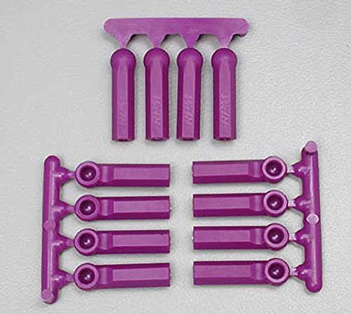 Rpm Rod (RPM Long Shank 4-40 Rod Ends (12), Purple)