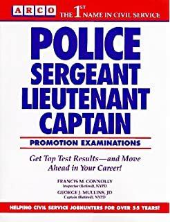 Police Sergeant, Lieutenant, and Captain Promotion Exams: Francis ...