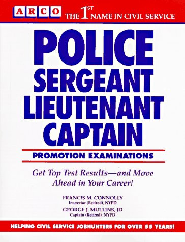 Arco Police Sergeant, Lieutenant, Captain Promotion Exams