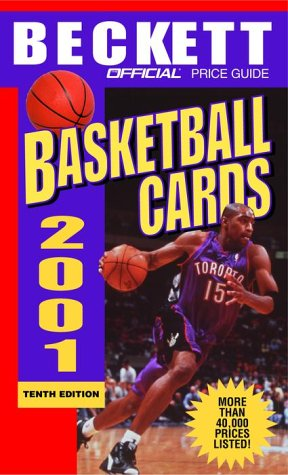 The Official Price Guide To Basketball Cards 2001 10th Edition