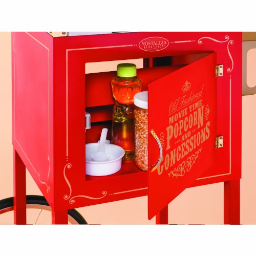 082677390059 - Nostalgia CCP610 59-Inch Commercial 8-Ounce Kettle Popcorn & Concession Cart carousel main 2