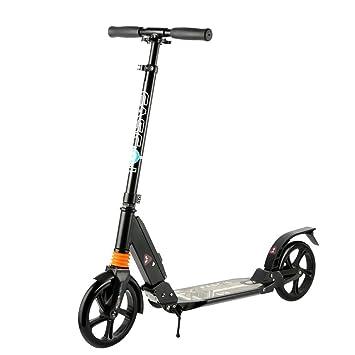 Fascol Patinete de 2 Ruedas para Adultos Scooter plegable Carga máximo 100 kg,Nergo