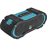 Altec Lansing - Boom Jacket II IMW579 Portable Bluetooth Speaker - Aqua blue