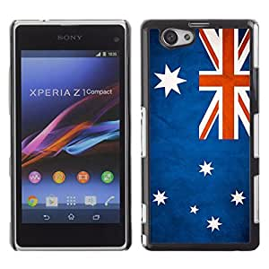Shell-Star ( National Flag Series-Australia ) Snap On Hard Protective Case For SONY Xperia Z1 mini