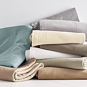 the company store legacy 6 2 oz velvet flannel extra deep flat sheet cal king. Black Bedroom Furniture Sets. Home Design Ideas