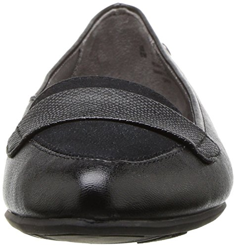Qwin Toe Women's Pointed LifeStride Black Flat Ct5TBqw