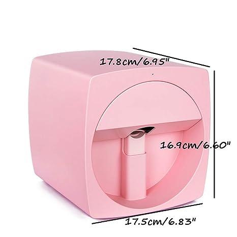 Impresora Móvil De Uñas 3D Manicura Transmisión Imagen Foto ...