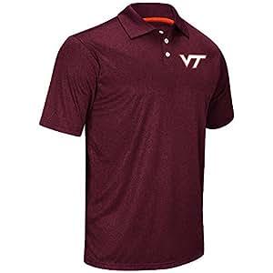Mens NCAA Virginia Tech Hokies Polo Shirt (Team Color) - 2XL