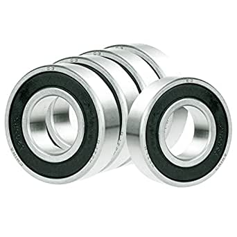 10 688ZZ 8mm//16mm//5mm Miniature Premium ABEC-5 Shielded Radial Ball Bearings