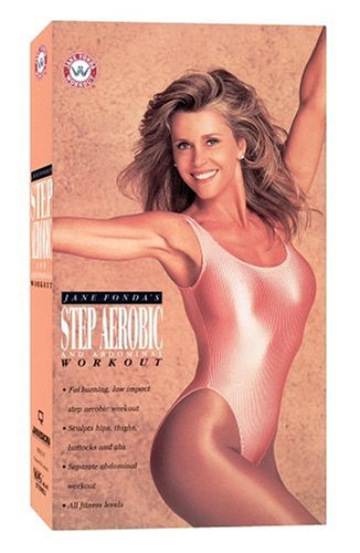 Jane Fondas Step Aerobic and Abdominal Workout [VHS]