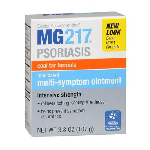MG217 Medicated climatisé Coal Tar formule Multi-Symptôme pommade, 3,8 once