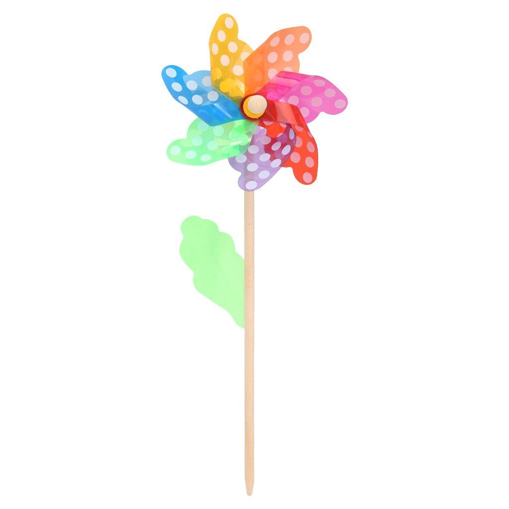 YUAYAN - Colorful Pinwheel Wind - Wind Spinner,Windmill Home Garden Yard Decor Kids Toys