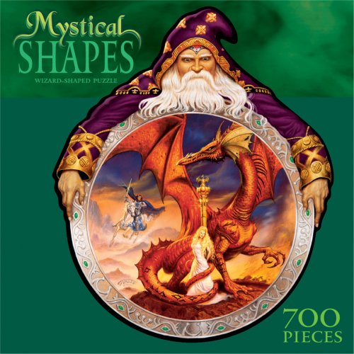 700 Piece Mystical Shapes Puzzle - Wizard Shaped Puzzle