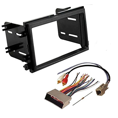 Ford 2004-2007 F-150 Works for Audiophile Sound ONLY CAR CD Stereo Receiver Dash Install MOUNTING KIT Wire Harness
