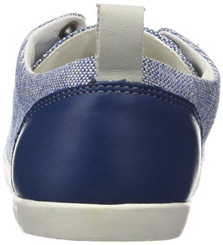 blue Bel Palladium By Femme Txt Bleu Baskets Pldm Basses TCfq8O