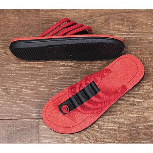 Hombres Desgaste Zapatillas Deporte Verano 44 Los Sandalias De Pinza Al Deslizamiento Huyp Libre Aire tamaño wBBXZq0