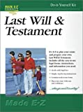 Last Will and Testament, Made E-Z Products Staff, 1563826569